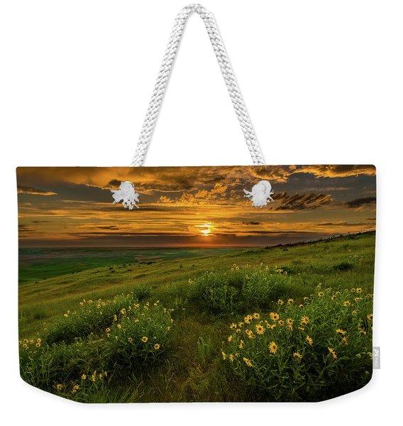 Sunset At Steptoe Butte Weekender Tote Bag