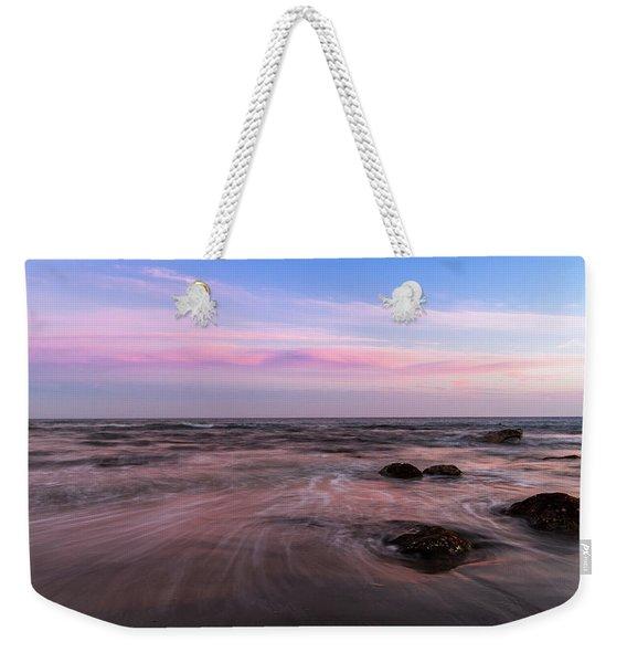 Sunset At The Atlantic Weekender Tote Bag