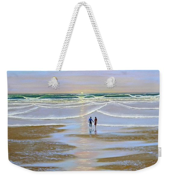 Sunset At The Beach Weekender Tote Bag