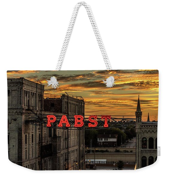 Sunset At The Brewery Weekender Tote Bag