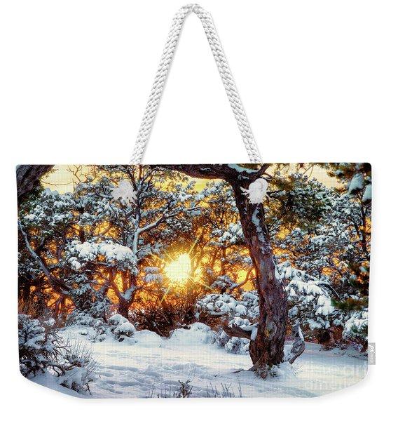 Sunset At The Canyon Weekender Tote Bag