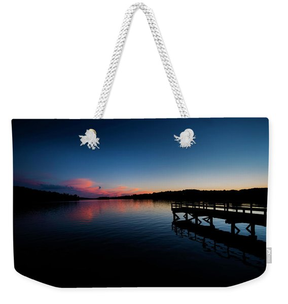 Sunset At The Pier Weekender Tote Bag