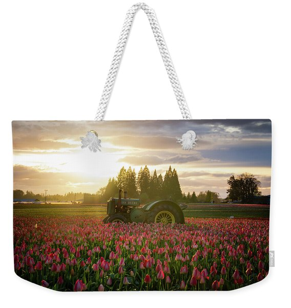 Sunset At The Tulip Farm Weekender Tote Bag