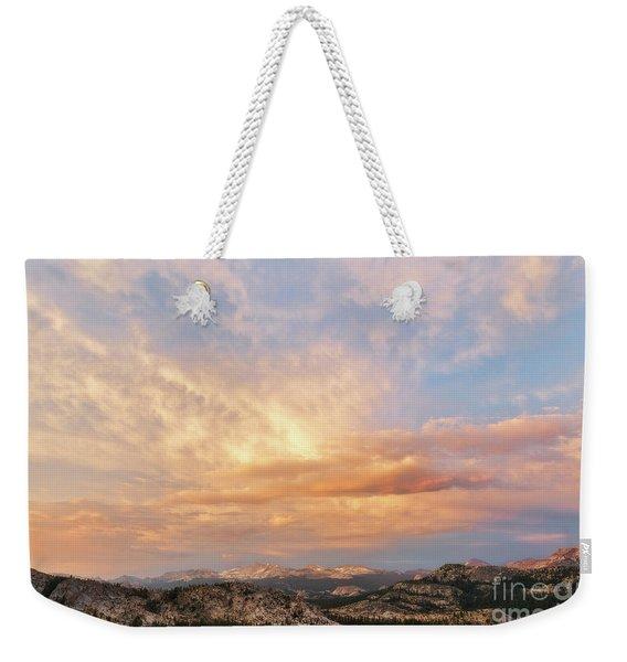 Sunset At Yosemite Weekender Tote Bag