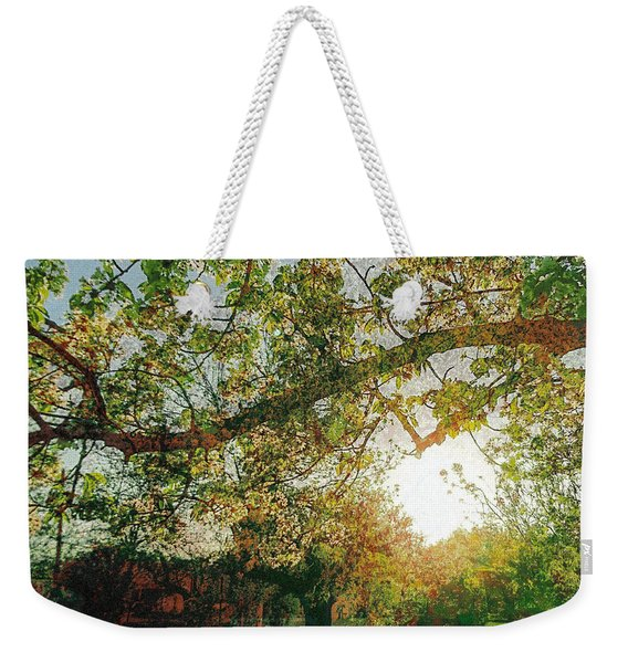 Weekender Tote Bag featuring the photograph Sunset  by Bee-Bee Deigner
