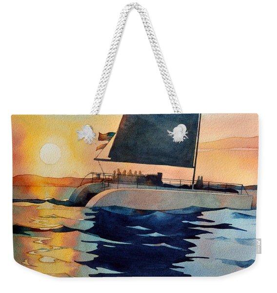 Sunset Boulevard Weekender Tote Bag