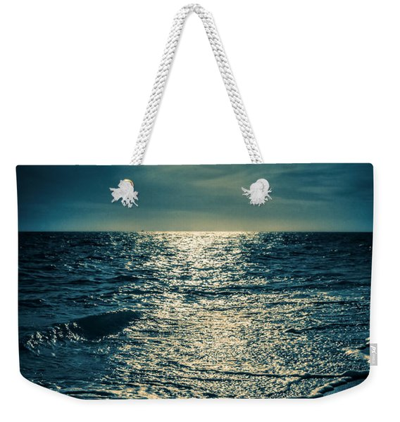 Sunset Bowman Beach Sanibel Florida Weekender Tote Bag