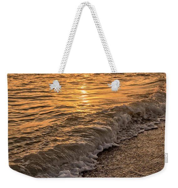 Sunset Bowman Beach Sanibel Island Florida  Weekender Tote Bag