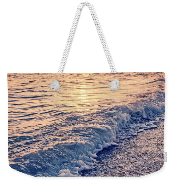Sunset Bowman Beach Sanibel Island Florida Vintage Weekender Tote Bag