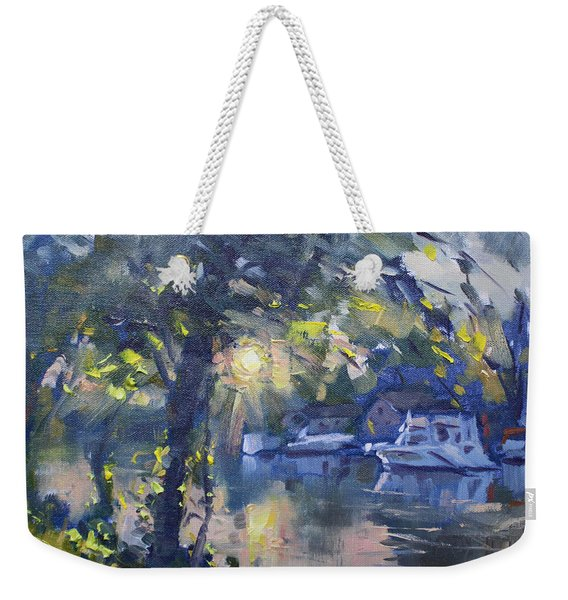 Sunset By The Water Weekender Tote Bag