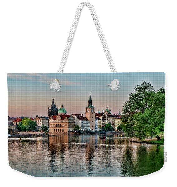 Sunset Cruise Prague Weekender Tote Bag