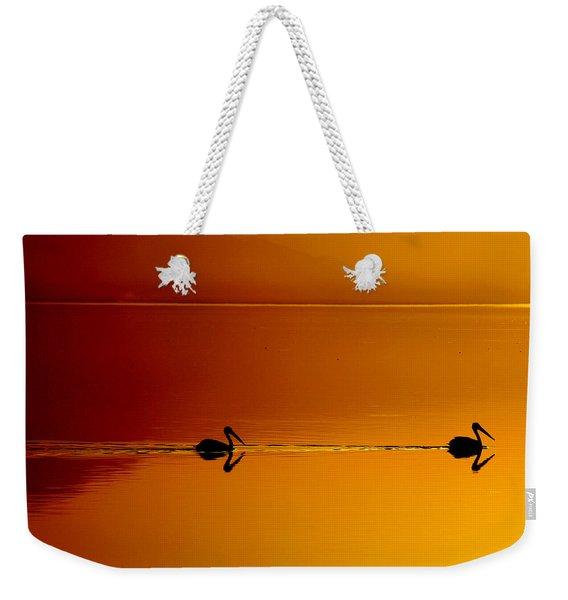 Sunset Cruising Weekender Tote Bag
