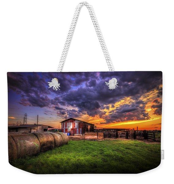 Sunset Dairy Weekender Tote Bag
