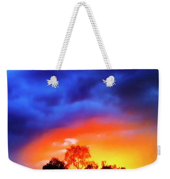 Sunset Extraordinaire Weekender Tote Bag