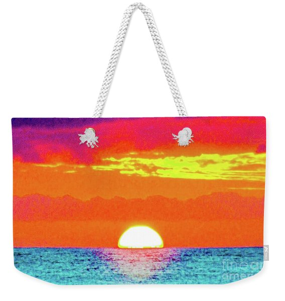 Sunset In Abstract 500 Weekender Tote Bag
