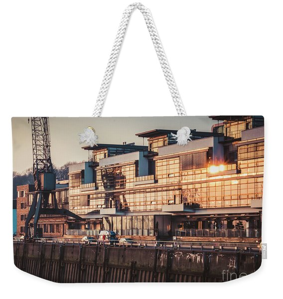 Sunset In Altona Hamburg Weekender Tote Bag