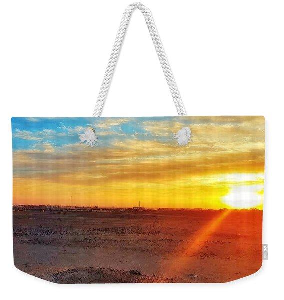 Sunset In Egypt Weekender Tote Bag