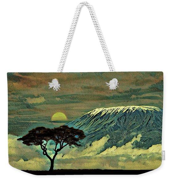 Sunset In Serengeti Weekender Tote Bag