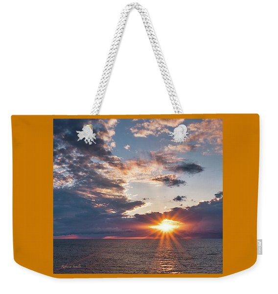 Sunset In The Clouds Weekender Tote Bag