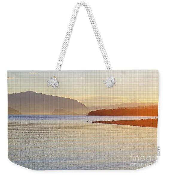 Sunset In The Mist Weekender Tote Bag