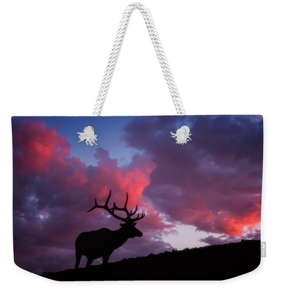 Sunset In The Rockies Weekender Tote Bag