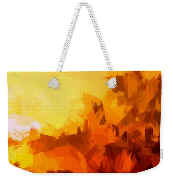 Sunset In Valhalla Weekender Tote Bag