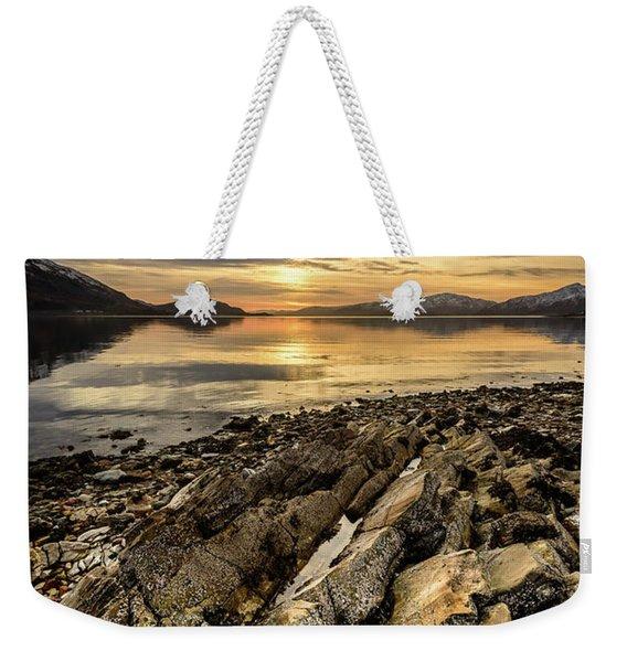 Sunset, Loch Lochy Weekender Tote Bag