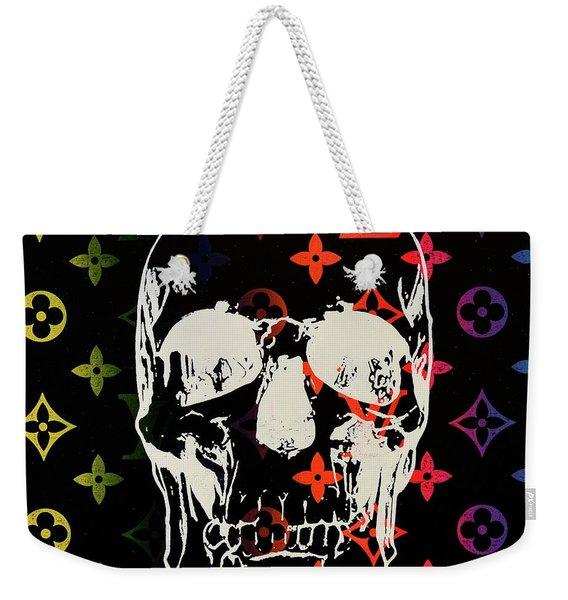 Sunset Lv Skull  Weekender Tote Bag