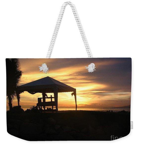 Sunset Massage Weekender Tote Bag