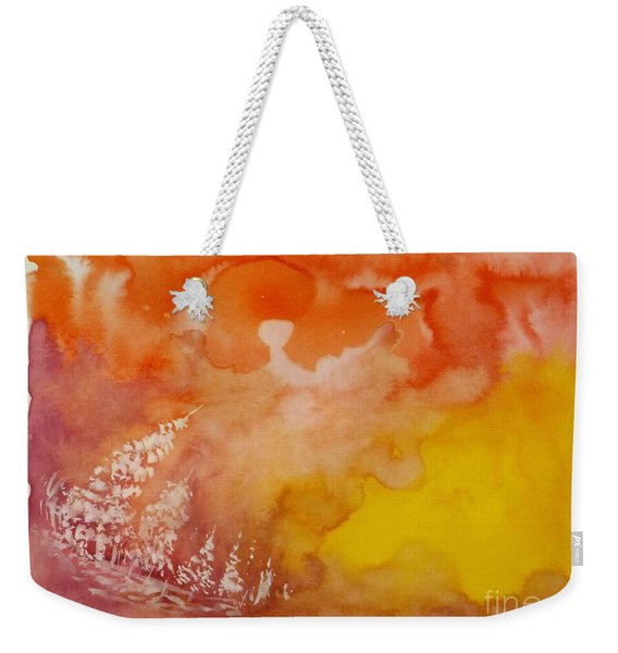 Sunset Melody Weekender Tote Bag