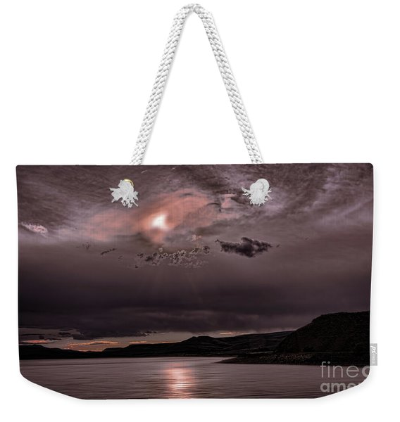 Sunset Near Crested Butte Weekender Tote Bag