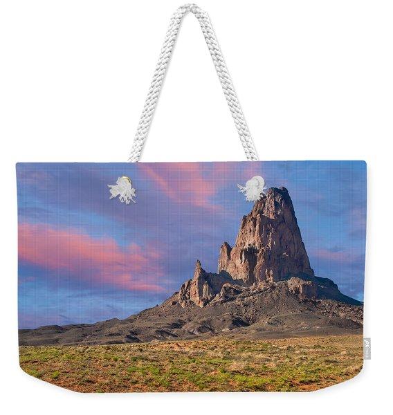Sunset On Agathla Peak Weekender Tote Bag