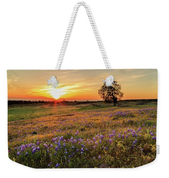 Sunset On North Table Mountain Weekender Tote Bag