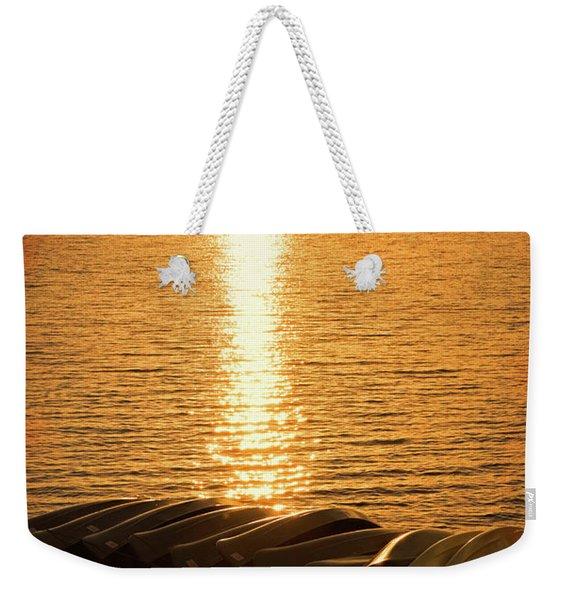 Sunset On Quinault Weekender Tote Bag