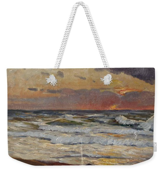 Sunset On The Baltic Sea Weekender Tote Bag