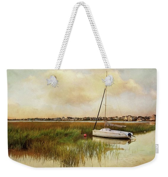 Sunset On The Basin Weekender Tote Bag