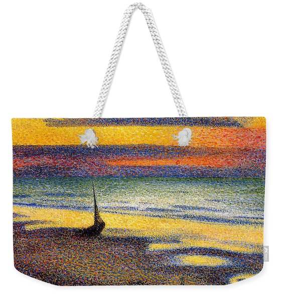 Sunset On The Beach 1891 Weekender Tote Bag