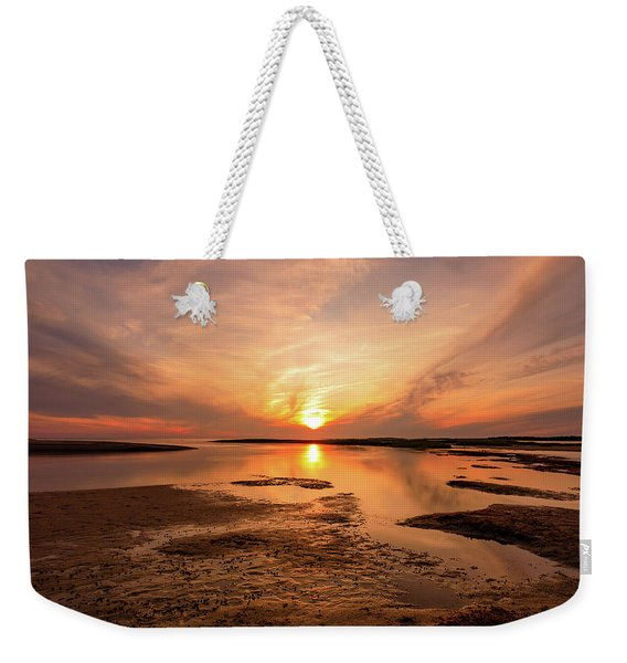 Sunset On The Cape Weekender Tote Bag