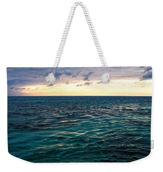 Sunset On The Caribbean Weekender Tote Bag