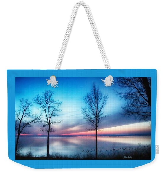 Sunset On The Diagonal Weekender Tote Bag