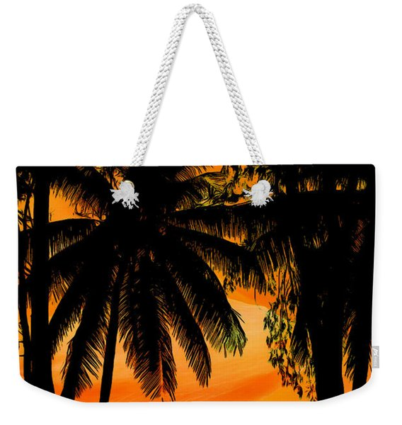 Sunset On The Island Of Tioman Collection - 1 Weekender Tote Bag