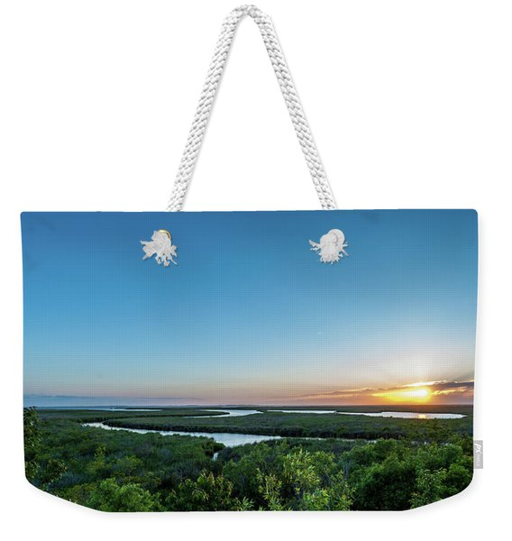 Sunset On The Outer Banks Weekender Tote Bag