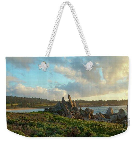 Sunset On The Pacific Ocean  Weekender Tote Bag