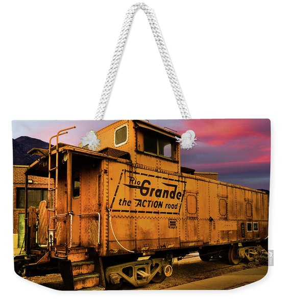 Sunset On The Rio Grande Weekender Tote Bag
