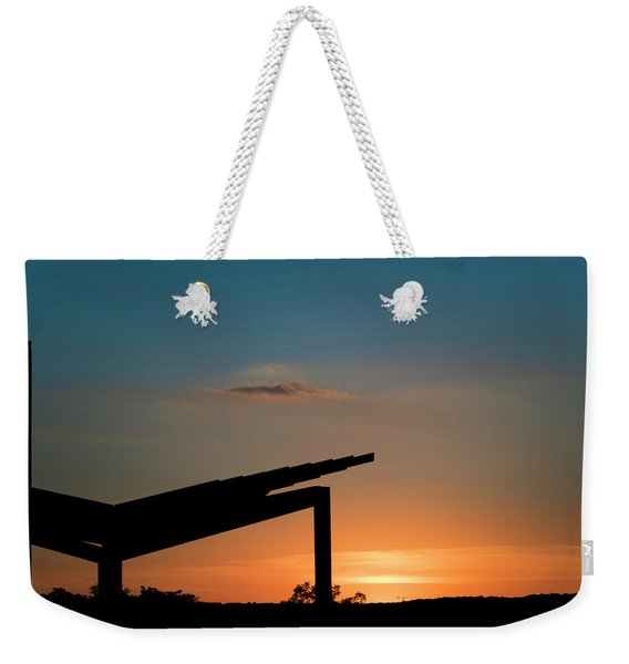 Sunset Over Austin City Limits Festival Week One 2017 Weekender Tote Bag