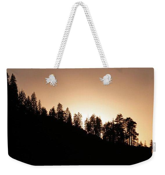 Sunset Over Glacier Point Weekender Tote Bag