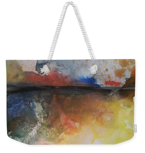 Sunset Over The Water Weekender Tote Bag