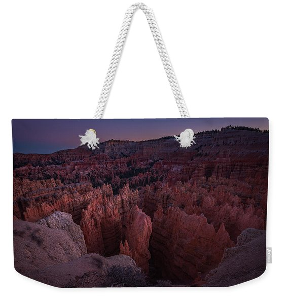 Sunset Point Weekender Tote Bag