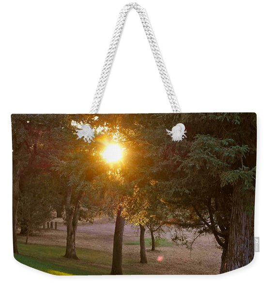 Sunset Retreat Weekender Tote Bag
