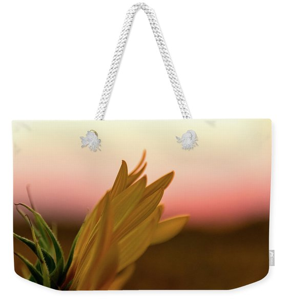 Sunset Sunflower Weekender Tote Bag